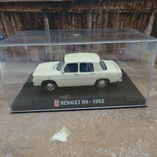 Voiture RENAULT R8 1962 blanche 1/43 IXO AUTO PLUS