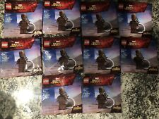 Lot of (10) LEGO EXCLUSIVE MARVEL AVENGERS - TEEN GROOT MINIFIGURE KEYCHAINS NEW