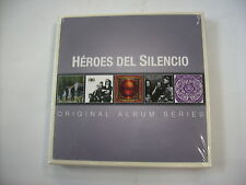 HEROES DEL SILENCIO - ORIGINAL ALBUM SERIES - 5CD BOXSET NEW SEALED 2014