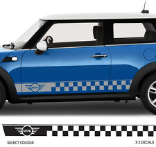 MINI COOPER S Side Stripe Sticker Car Decals OEM QUALITY Racing Graphics Vinyl