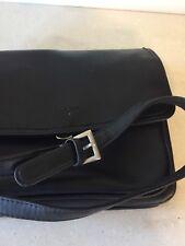 villager handbag black by liz claiborne long adjustable shoulder strap flap top