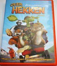 Norwegian Danish Childrens Kids DVD Movie Norsk Dansk Animation film OVER HEKKEN
