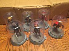 Avengers Capt. America,Black Widow,Iron Man,Thor,Ronin,Thanos Lot Of 6 Zag Toys