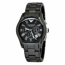 Emporio Armani AR1400 Black Ceramic Dial Chronograph 42mm Men's Watch