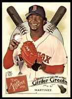 2019 TOPPS ALLEN & GINTER GREATS PEDRO MARTINEZ RED SOX #GG-24 INSERT
