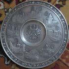 Austria Österreich Eiiur Becker Puter  Plate 95% Zinn Gegossen 9 -9 Inches