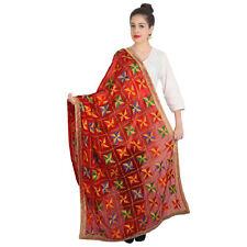 Dupatta Indian Dupatta ForRed Long Scarf Shawl Traditional Womens Scarves
