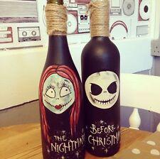 Personalised Nightmare Before Christmas Gift Halloween Jack Skeleton Sally