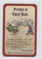 2011 Munchkin Zombies #NoN Pitcher of Cheap Beer Gaming Card 1i3