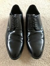 Mens Aldo Black Patent Shoes UK 10 *Slightly used* Worn Once Indoors!!!