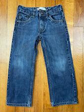 Levis 505 Childrens Jeans Size 5 Regular Blue Denim