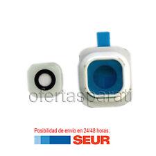 Repuesto embellecedor lente Camara trasera para Samsung Galaxy S6 G920f blanco