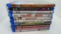 Lot of 10 Different Blu-Ray Movies (Lot Blu 284)
