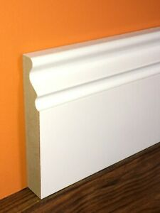 Cornwall Primed MDF Skirting & Architrave Board - Pack Quantities