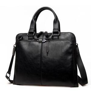 Men Messenger Shoulder Bag Business Work Briefcase Handbag Crossbody Laptop Bag