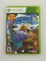 Phineas and Ferb: Quest for Cool Stuff - Xbox 360 Game - Complete & Tested