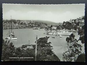 Devon DARTMOUTH & KINGSWEAR c1950s RP Postcard by Harvey Barton