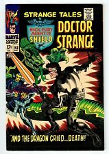 Marvel STRANGE TALES #163 - VF/NM Dec 1967 vintage comic