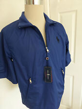 BNWT  Ralph Lauren Polo Golf  Blue Cruden Short Sleeve Pullover Top