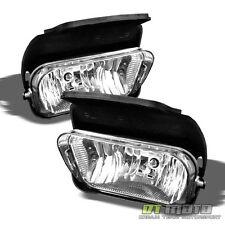 2003-2006 Chevy Silverado Avalanche Bumper Fog Lights Lamps Left+Right Pair sets