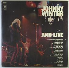 "2x12"" LP - Johnny Winter - And/Live - A3010h - washed & cleaned"