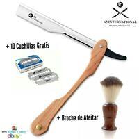 Navaja de afeitar Barberia Peluqueria Brocha de Afeitar Shaving Razor Cuchilla