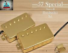 G.M. 57  Special      Alnico II    Gold  Humbucker set  (4-wire)