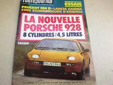 """REVUE  """" L' AUTO JOURNAL """" N° 2  ANNEE  1977  *"""