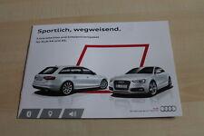 138991) Audi A4 A5 - S Line Selection - Prospekt 11/2013