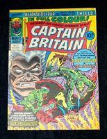 CAPTAIN BRITAIN #9 {Marvel, 1976} 2nd App Betsy Braddock Psylocke HIGH GRADE 10p