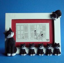 "ALBERT DUBOUT DUB39 - Les Chats de Dubout ""L'alignement-Cats in a row"" Fotoframe"