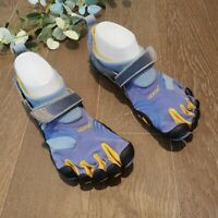 Vibram Five Fingers Blue Barefoot Shoes Size 41 W3664 Womens 9 Komodo Sport