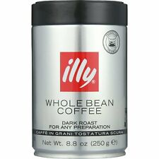 Illy Caffe Coffee Coffee - Whole Bean - Dark Roast - 8.8 Oz - Case Of 6
