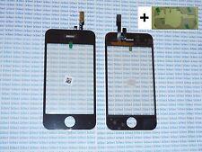 Touch screen per Apple Iphone 3GS vetrino touchscreen nero con adesivo