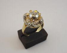ANELLO VINTAGE ANNI'30 ORO CON DIAMANTE  OLD RING IN GOLD AND DIAMOND