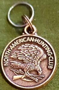 "North American Hunting Club NAHC Eagle 1"" Keychain ""The future of hunting.."""