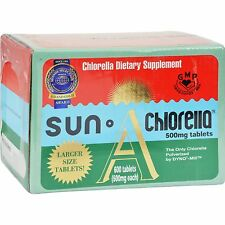 Sun Chlorella A Tablets 500 mg 600 Tablets