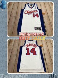 RARE Shaun Livingston Los Angeles Clippers Adidas Swingman Jersey Men Medium M❄️