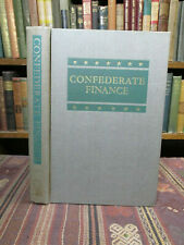 New listing 1954 Richard C. Todd Confederate Finance Old Civil War Book First Edition