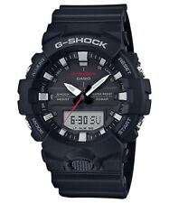 BRAND NEW CASIO G-SHOCK GA800-1A BLACK ANA-DIGI MENS RESIN WATCH NWT!!!
