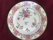 Antique Compagnie des Indes XVIII  Qianlong period plate