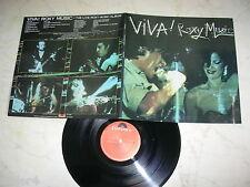 ROXY MUSIC Viva! *RARE AUSTRALIA FOC LP*NM*