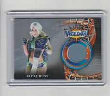 2018 WWE Road To Wrestlemania 01 /25 Alexa Bliss Event-Used Mat Relic