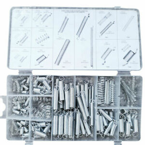 200 Set Assorted Coil Spring Small Metal Steel Expansion Compressed Springs UK