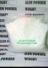 ALUM POWDER OR TAWAS POWDER 130gm OR 4 OZ FROM INDIA  POWDERED ALUM