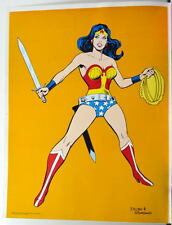 Vintage DC 1978 WONDER WOMAN PRINTER PROOF POSTER Justice League Rare 16 x 20