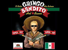 Gringo Bandito - Super Hot Sauce 5oz - Made In USA - New Sealed B2G1 Free