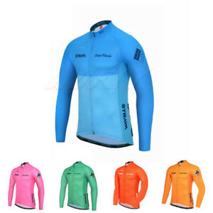 Mens Windproof MTB Outdoor Sportswear Cycling Breathable RearPockets Soft Jacket
