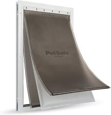 PetSafe Extreme Weather Aluminum Pet Dog Door with 3 Flaps Insualtion -New Model