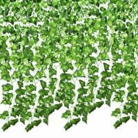 2.5M Artificial Grape Ivy Vine Leaf Garland Plants Green Fake Foliage Decor cp